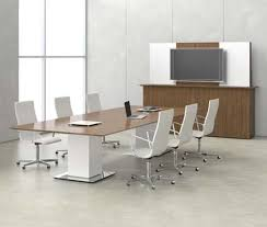 bar height conference table nucraft elevare table looks like a normal conference table until the