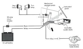 electric trailer brakes wiring diagram electric trailer brakes