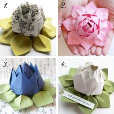 Lotus Blossom Origami - origami lotus blossom image collections craft decoration ideas
