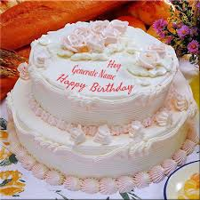 online birthday cake write your name on happy birthday celebration cake online fr