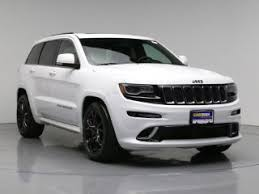 jeep 2014 white white jeep grand srt 8 for sale carmax