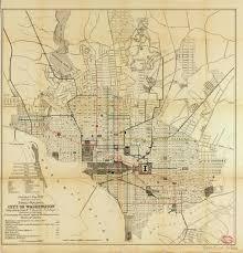 washington dc trolley map historical map railways city of transit maps