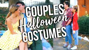 Easy Couple Halloween Costumes Easy Couple Halloween Costume Ideas 2017 Youtube