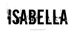 isabella name tattoo designs