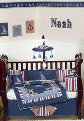 nautical baby bedding sail boat toddler bedding