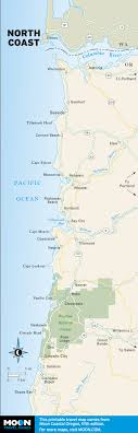 map of the oregon coast the 10 best places to c on oregon s coast moon com