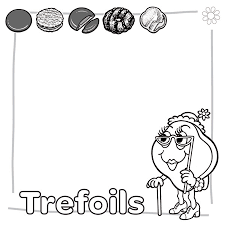 enjoyable ideas scout cookie coloring pages abc baker sheet
