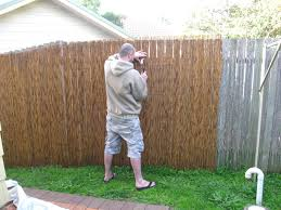 patio ideas install bamboo privacy fence patio privacy fence