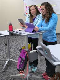 Learning Desk Adjustable Standing Desk For Students Ergotron
