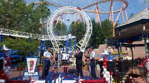 Six Flags Va The New Revolution Officially Opens At Six Flags Magic Mountain