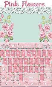 go flowers pink flowers go keyboard theme android apps on play