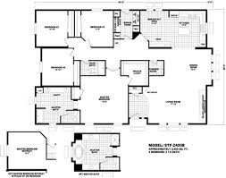 floor plan stf 2400b santa fe durango homes built by cavco