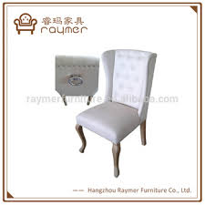 Ring Back Dining Chair European Norway Style Ring Back Chair Fabric Tufted Dining Room