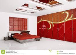 Bedroom Designer 3d Modern Bedroom Interior 3d Render Royalty Free Stock Photos