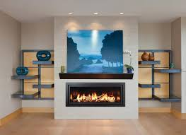 gas fireplace photo gallery mendota hearth minimal accents have maximum impact when paired with the panoramic decor linear fireplace