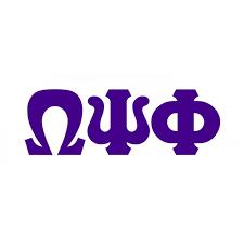 omega psi phi big letter window sticker decal sale 8 95