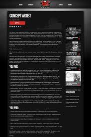Concept Artist Resume Concept Artist Job At Riot Games In Los Angeles Ca Tapwage Job