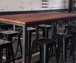 Tables  Bar Leaners - Bar height dining table nz