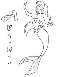 princess ariel friends mermaid coloring pages coloring pages