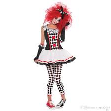 clown costumes high quality circus clown costumes party 2017 new