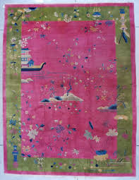 Pink Oriental Rug Art Deco Rugs And Antique Nichols Chinese Rugs