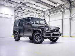 2016 mercedes benz g class gets new engines suspension and