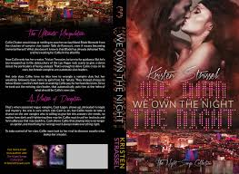 we own the night cover reveal u0026 the re release of because the
