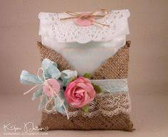 Shabby Chic Gift Bags by Reserved Listing For Lorribland1 Burlap Gift Bags Or Treat Bags