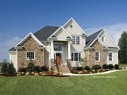 Stone House Plans Gorgeous Stone Accented Exterior Hwbdo12359 French Country From