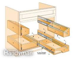 kitchen sink furniture how to build kitchen sink storage trays family handyman