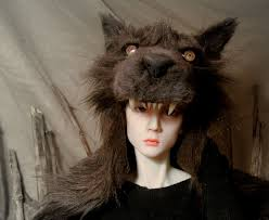 bjd wolf headdress by maryamdn on deviantart