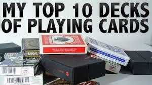 my top 10 decks of cards 2015 hd