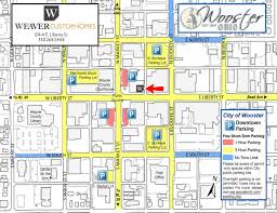 Map Of Wooster Ohio by Design Center Weaver Custom Homes