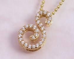 s necklace ciao accessories rakuten global market alphabet s initials