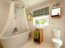 gardine badezimmer bad fenster vorhang möbelideen