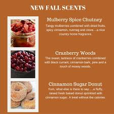 Fall Scents Natural Soy Candles Blog Ct River Candles