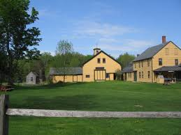 big farmhouse big house house back house barn new