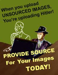 Upload Image Meme - when you upload unsourced images you re uploading hitler