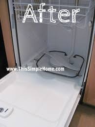 Orange Stains In Bathtub This Simple Home How To Clean Brown Stains In Dishwasher