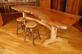 colors of wood furniture wood slab dining table live edge wood furniture custommadecom