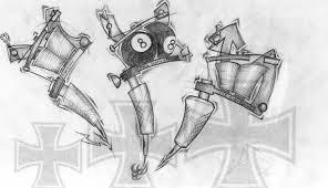 tattoo gun sketch tattoo gun sketches by getsomeink on deviantart