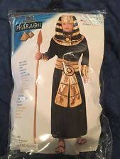 King Tut Halloween Costume Egyptian Mummy Pharaoh U0027s Revenge King Tut Child Costume 00446 Ebay