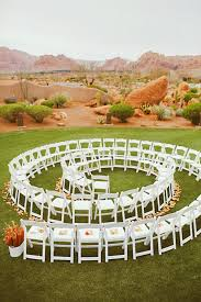 wedding ceremony ideas creative ways to set up your wedding ceremony chairs brides