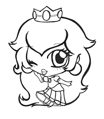 princess peach clipart 37