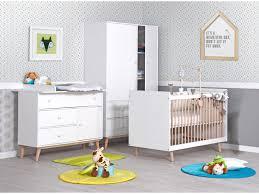 chambre bébé évolutive avec commode à langer lb60 a cl
