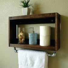 Wood Bathroom Towel Racks Wooden Bathroom Towel Rack Shelf Four Tier Bathroom Shelf House