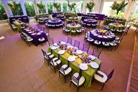 Lime Green And Purple Bedroom - the decor in the tent included bright purple and green linens and