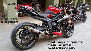 Triumph Street Triple Heavily Modded Walkaround Sc Project Exhaust