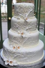 giant french fancy wedding cake with edible cases wedding cakes