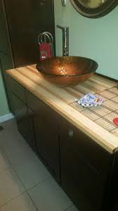 hickory butcher block countertops country mouldings